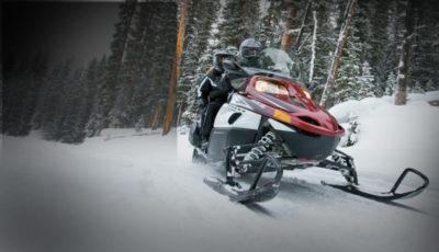 як зробити снігохід з мотоцикла