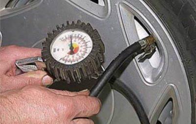 скільки тиск в шинах на газелі