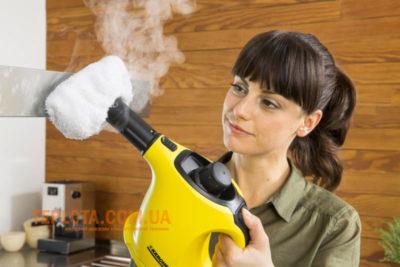 як працює пароочиститель для будинку