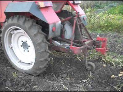 як зробити картоплекопалку своїми руками для трактора