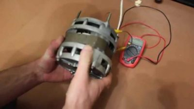 як зробити генератор з електродвигуна