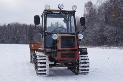 як зробити гусеничний трактор