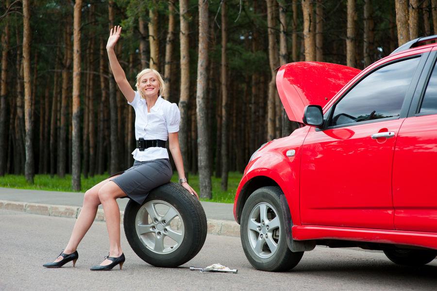 Мелкие автосервисы на обочинах трассы могут помочь в непредвиденной ситуации