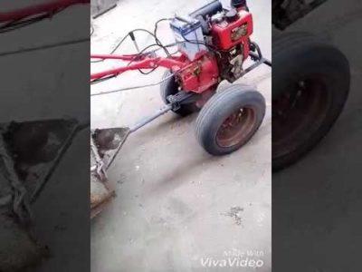 як на мотоблок поставити колеса від жигулів