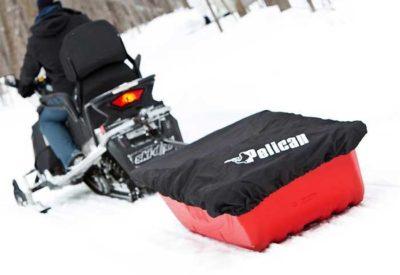 як зробити сани для снігохода
