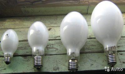 що таке ДРЛ лампи