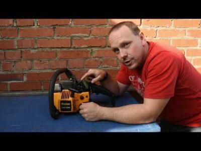 чому глухне бензопила коли даєш газу