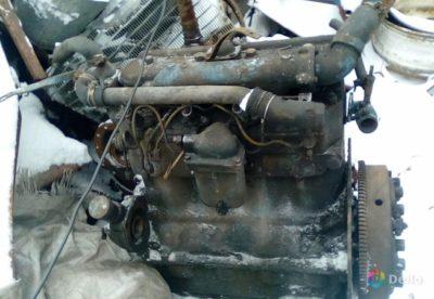 КамАЗ 5320 який двигун