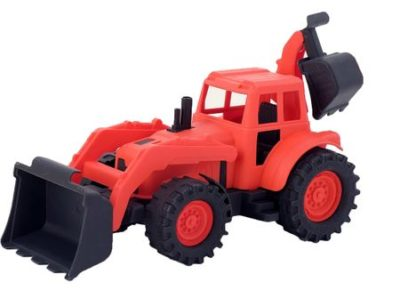 трактор з ковшем як називається