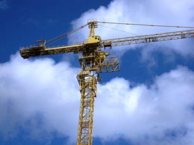 як піднімають баштовий кран