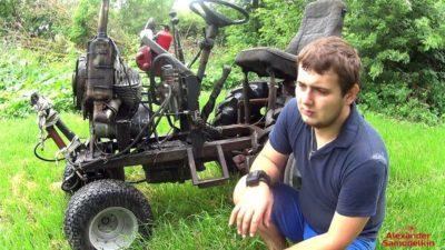 як зробити повнопривідний міні-трактор